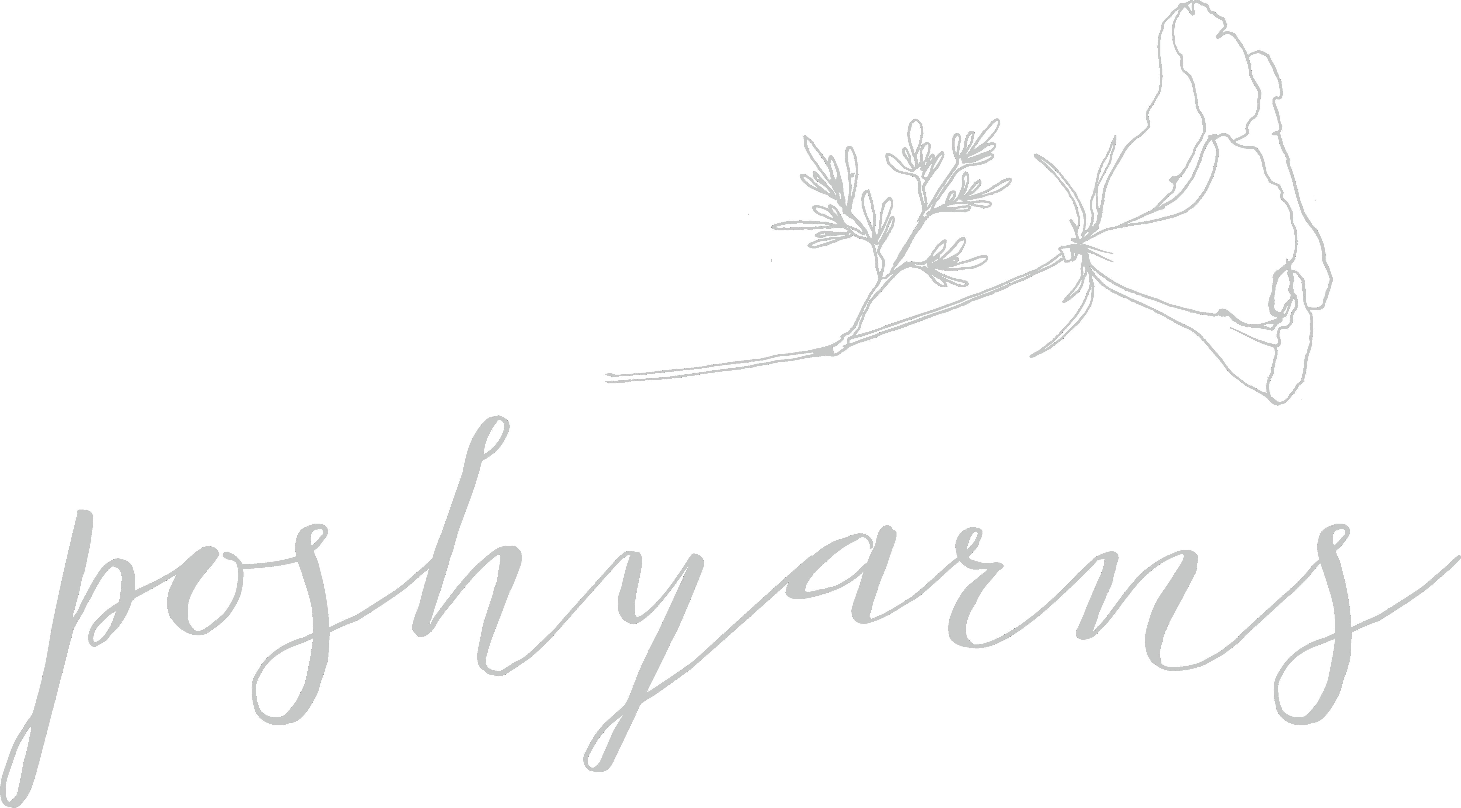 Poshyarns